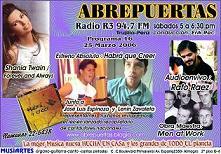 SABADO 25 MARZO  -Jose Luis, Lenin y Erik  presentan CD: