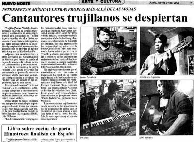 Lo dice la Prensa...grandes, Cantautores!!!!