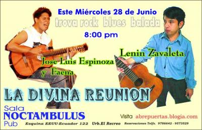 miercoles 28 La Divina Reunion va llegando a su fin