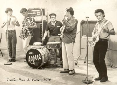 Los Aguilas: Los 70' fueron suyos ( Trujillo latin pop)