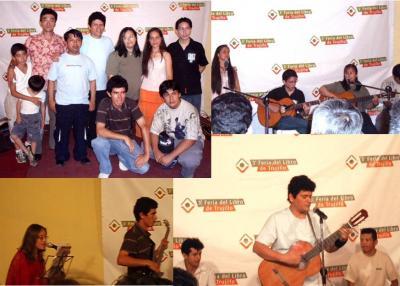 Imagenes  del concierto en la 3ª Feria del Libro de Trujillo