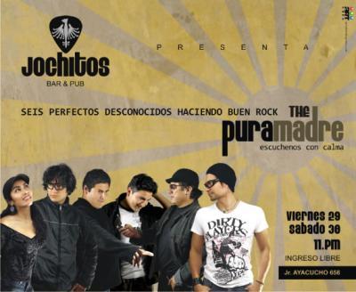 The Pura Madre: Rock Conocido por 6 Perfectos Desconocidos
