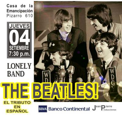 THE BEATLES en español- Tributo 4 setiembre