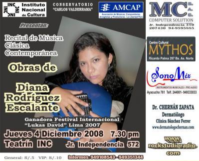 Diana Rodriguez: Musica Clasica Contemporanea