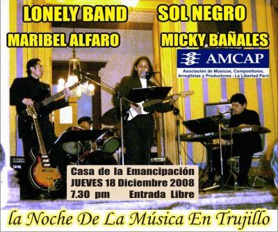 Noche de la Musica en Trujillo jueves 18 Diciembre 2008